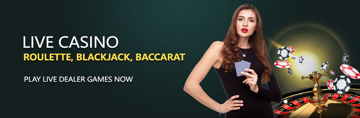 Online Live casino Singapore Banner