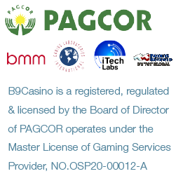 B9Casino Singapore is licensed by Pagcor