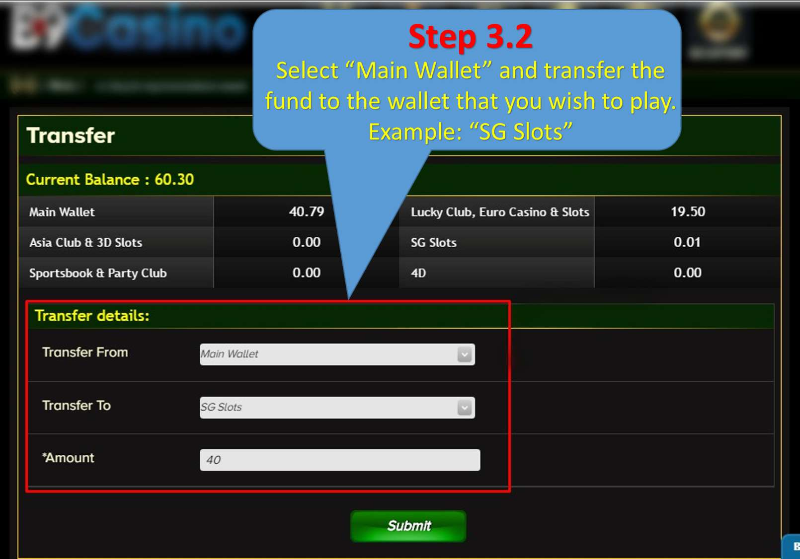Play & Win Step 2